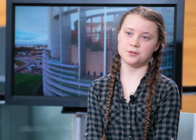Greta Thunberg om EU-valet