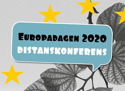 Fredagen 8/5 uppmärksammar vi Europadagen med en distanskonferens på temat cirkulärekonomi!