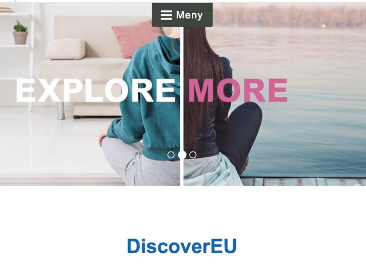Är du 18 år och vill upptäcka Europa gratis i sommar?