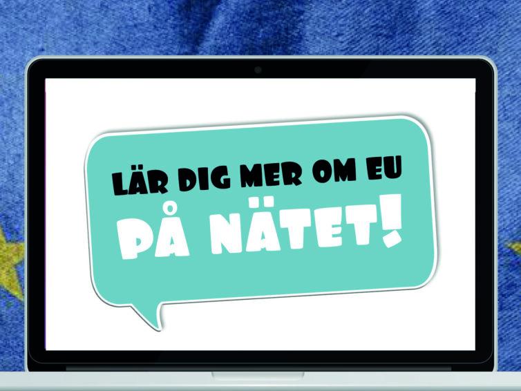 Inspiration för lärande online kring EU för unga