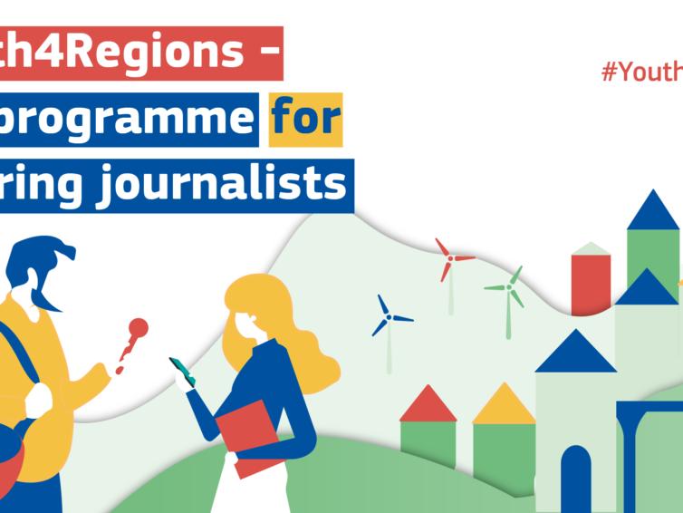"""""""Youth4Regions"""" – program för unga journalister och journaliststudenter!"""