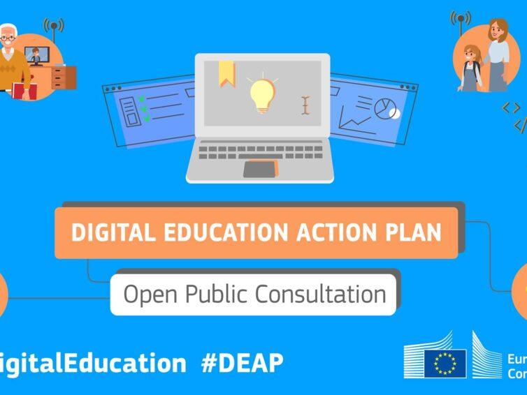 Gör din röst hörd i hur EU arbetar med digital utbildning