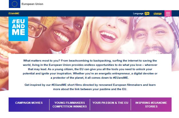 Sida för dig som är ung i EU