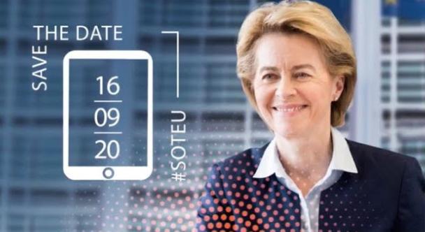 Titta på Ursula von der Leyens tal tillsammans med Europa Direkt!