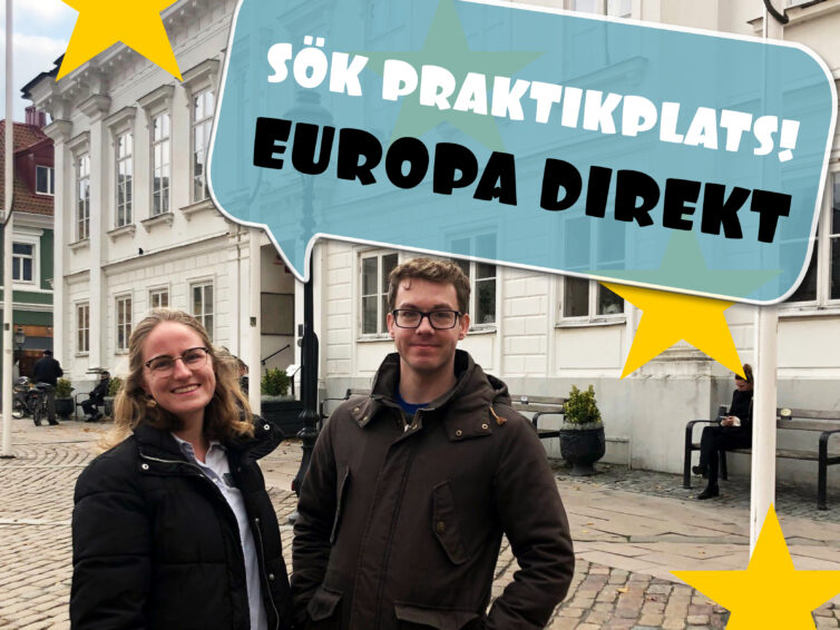 Europa Direkt Sydskåne söker två ambitiösa praktikanter