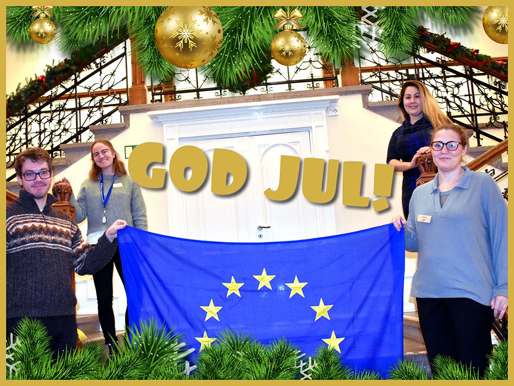 Europa Direkt Sydskåne-teamet önskar go djul