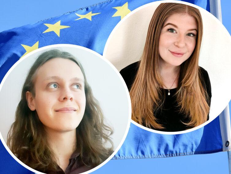Lär känna Europa Direkt Sydskånes nya praktikanter