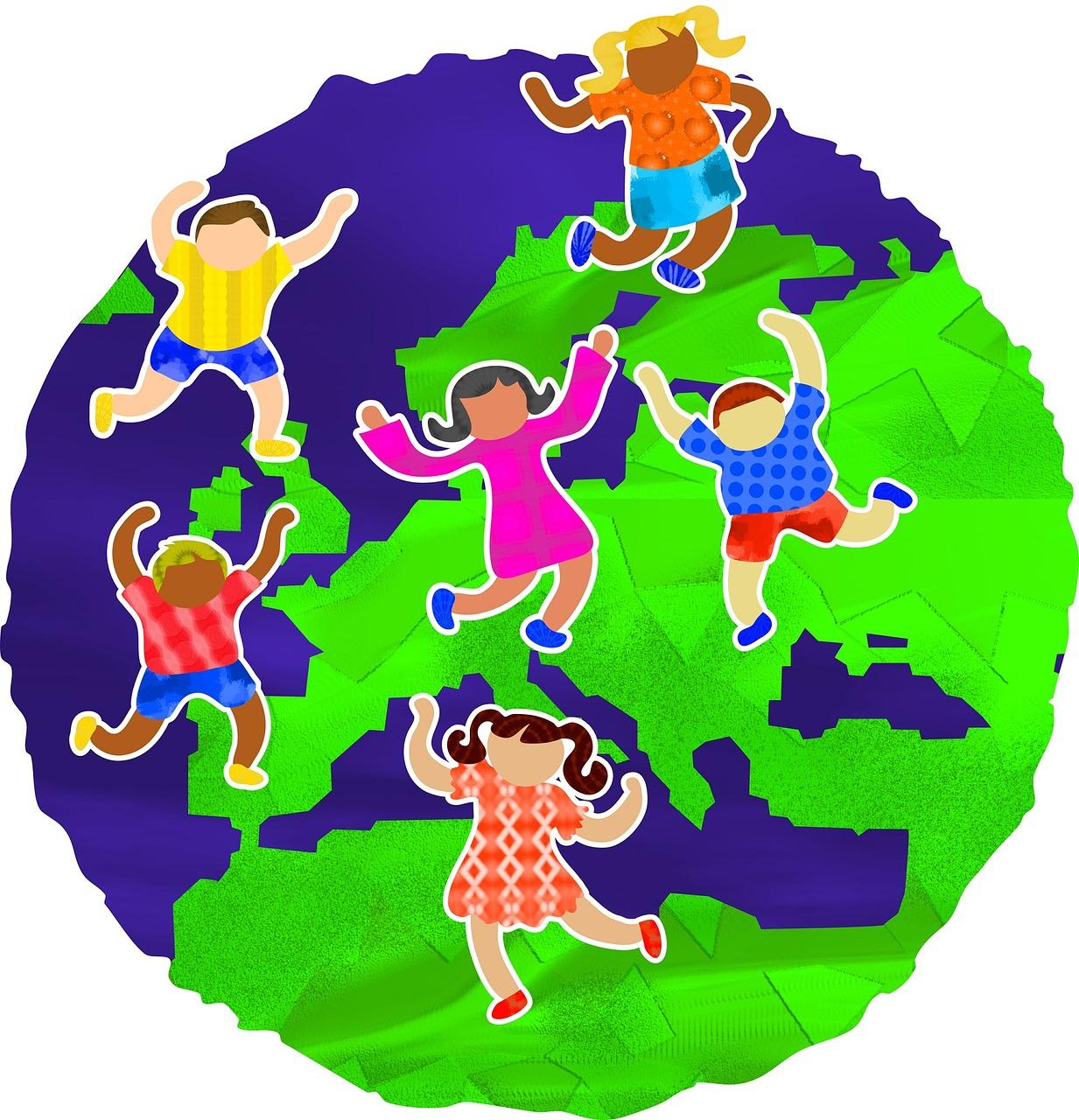 Barn i Europa