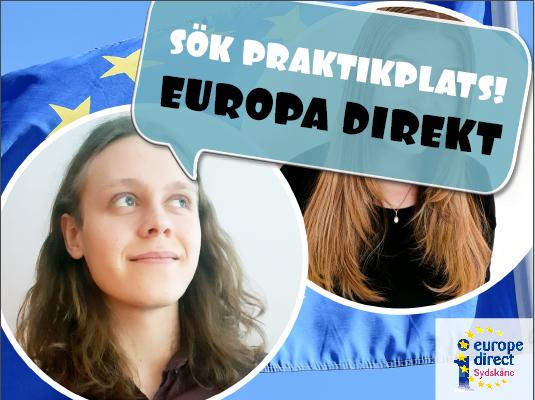 Europa Direkt Sydskåne söker praktikanter till HT2021!