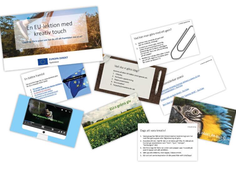 En EU-lektion med kreativ touch